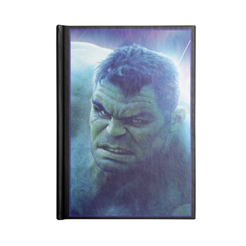 Hulk Accessories Lined Journal Notebook by Evolution Comics INC