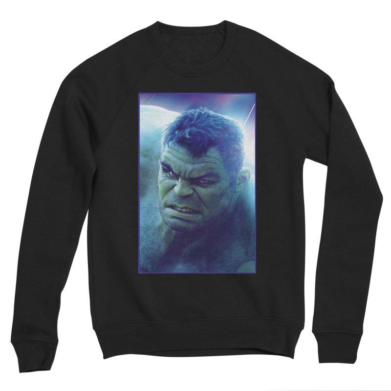 Hulk Women's Sponge Fleece Sweatshirt by Evolution Comics INC