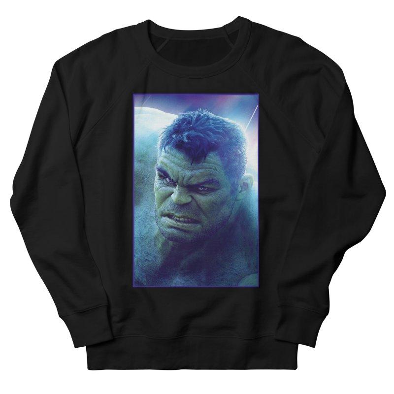 Hulk Men's French Terry Sweatshirt by Evolution Comics INC