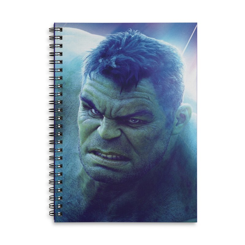 Hulk Accessories Lined Spiral Notebook by Evolution Comics INC