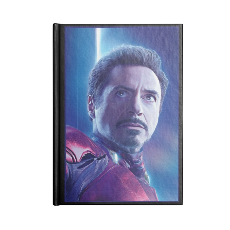 Iron Man - Tony Stark Accessories Lined Journal Notebook by Evolution Comics INC
