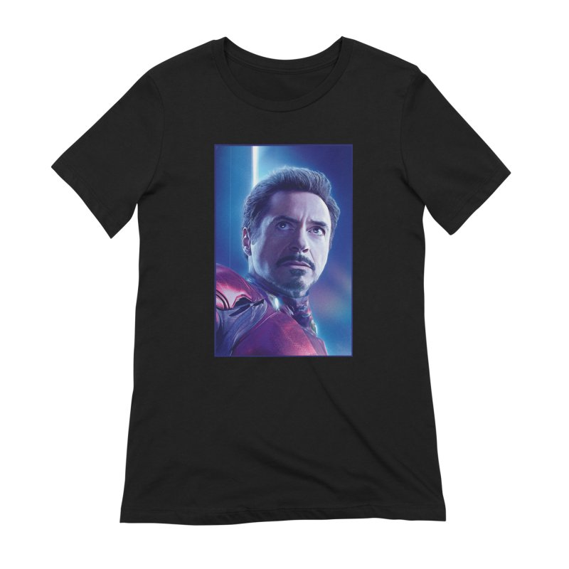 Iron Man - Tony Stark Women's Extra Soft T-Shirt by Evolution Comics INC