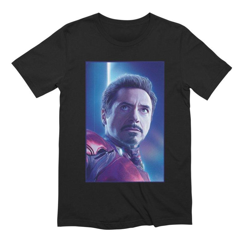 Iron Man - Tony Stark Men's Extra Soft T-Shirt by Evolution Comics INC
