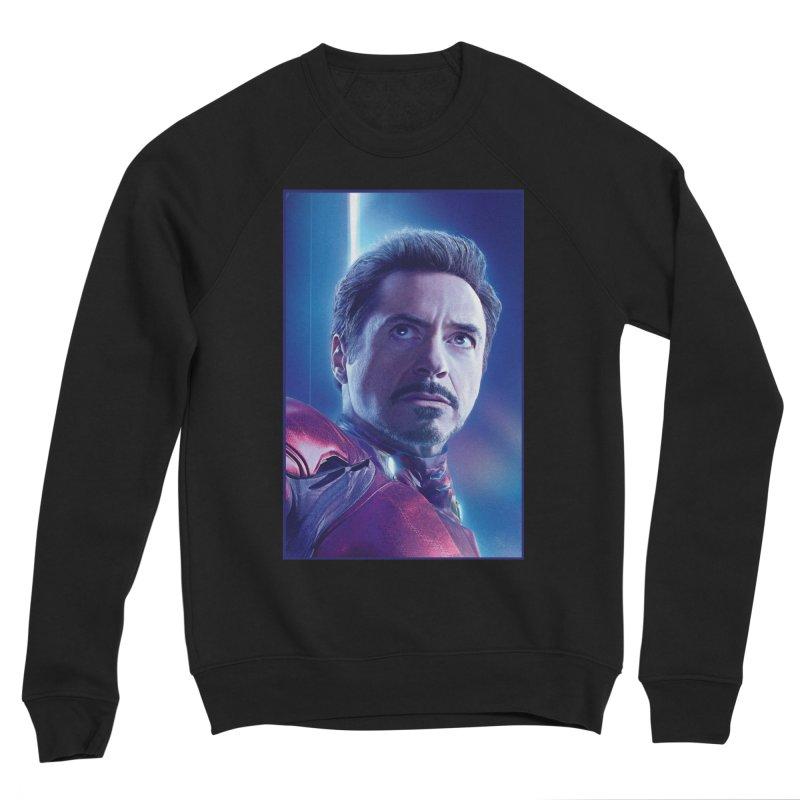 Iron Man - Tony Stark Men's Sponge Fleece Sweatshirt by Evolution Comics INC