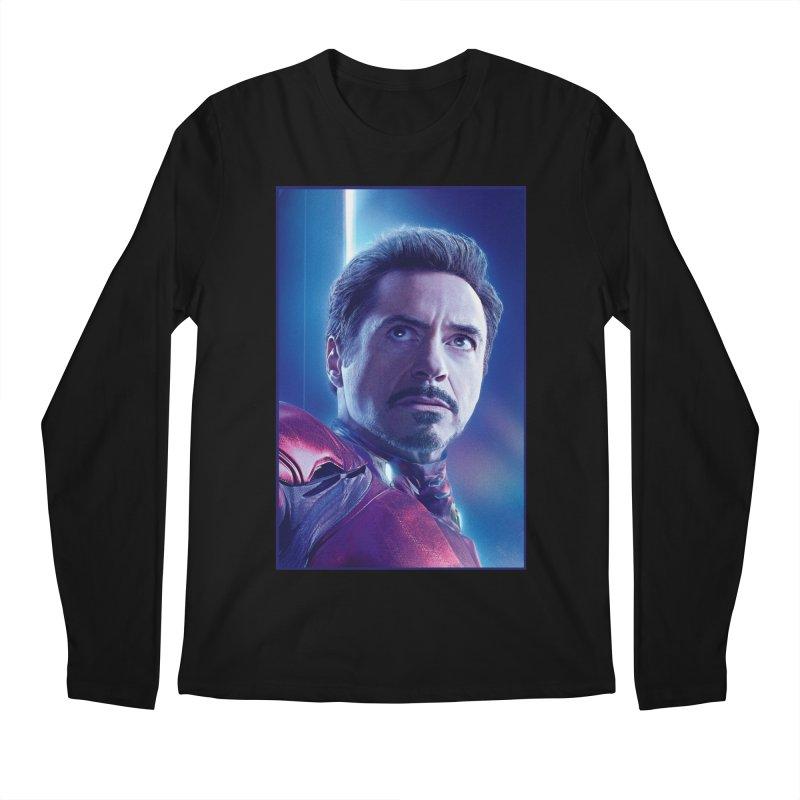 Iron Man - Tony Stark Men's Regular Longsleeve T-Shirt by Evolution Comics INC