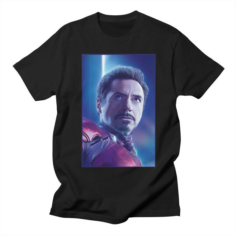 Iron Man - Tony Stark Women's Regular Unisex T-Shirt by Evolution Comics INC