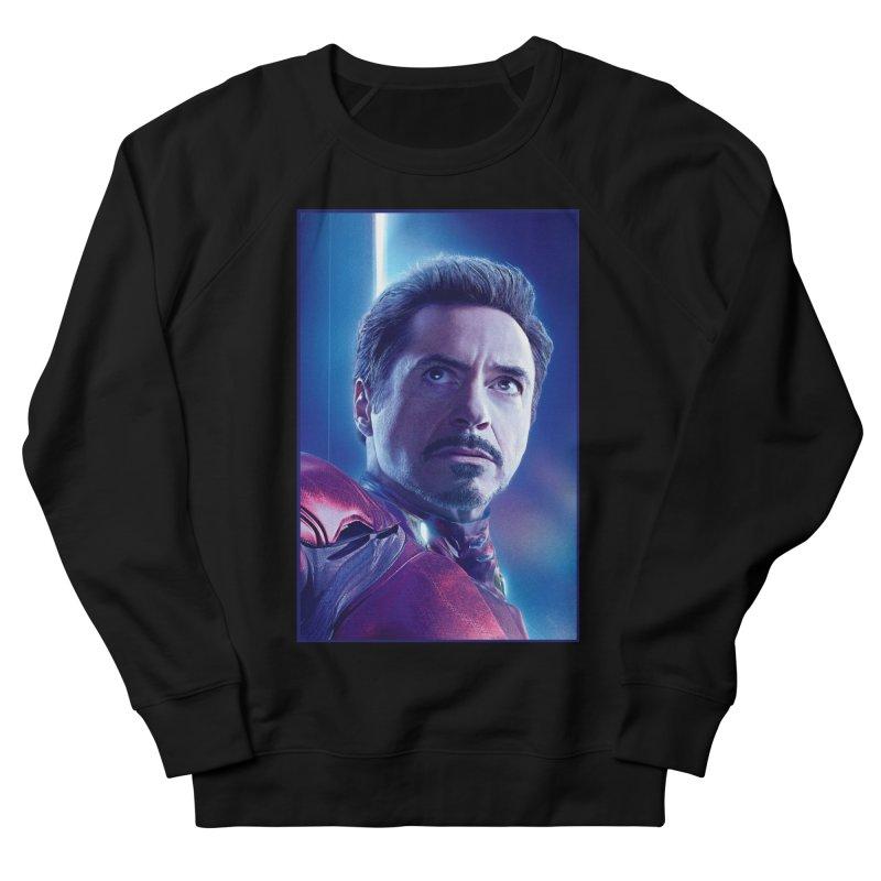 Iron Man - Tony Stark Men's French Terry Sweatshirt by Evolution Comics INC