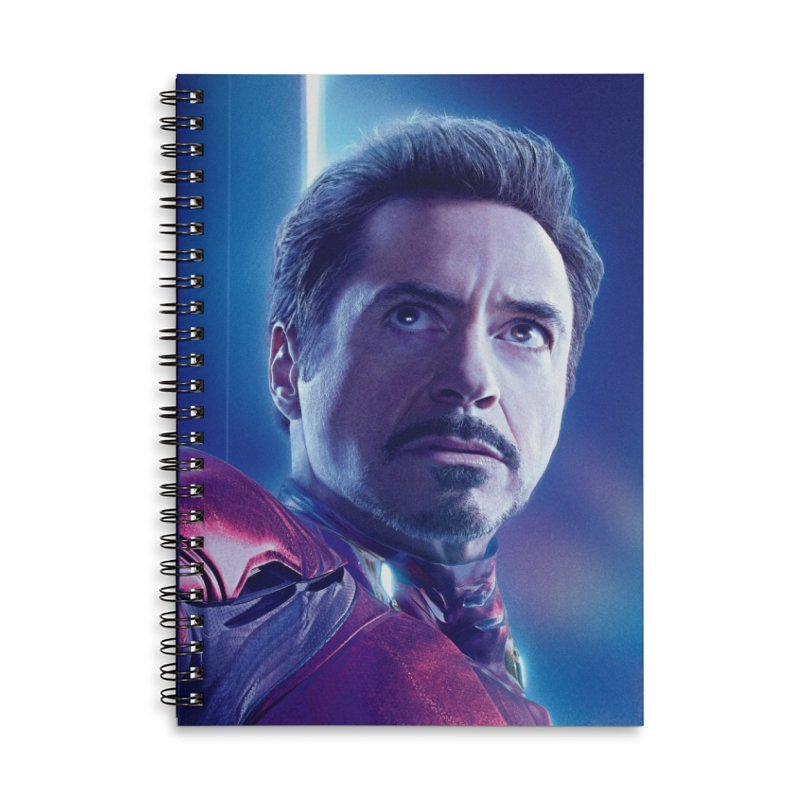 Iron Man - Tony Stark Accessories Lined Spiral Notebook by Evolution Comics INC