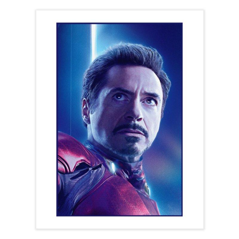 Iron Man - Tony Stark Home Fine Art Print by Evolution Comics INC
