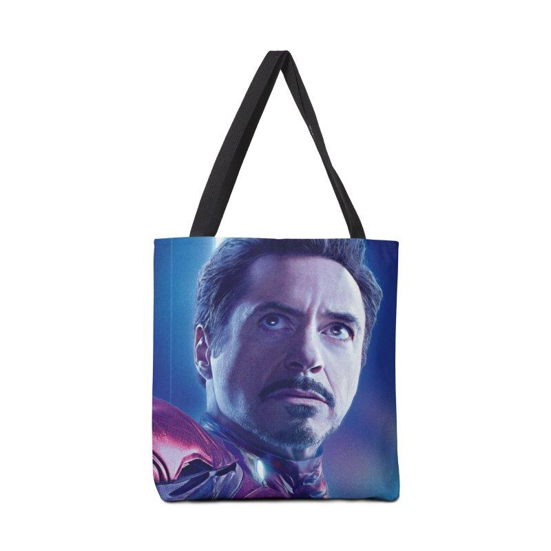 Iron Man - Tony Stark Accessories Tote Bag Bag by Evolution Comics INC