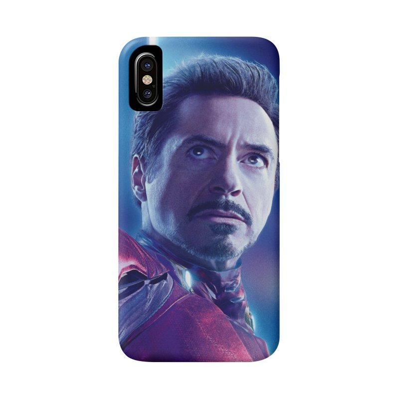 Iron Man - Tony Stark Accessories Phone Case by Evolution Comics INC