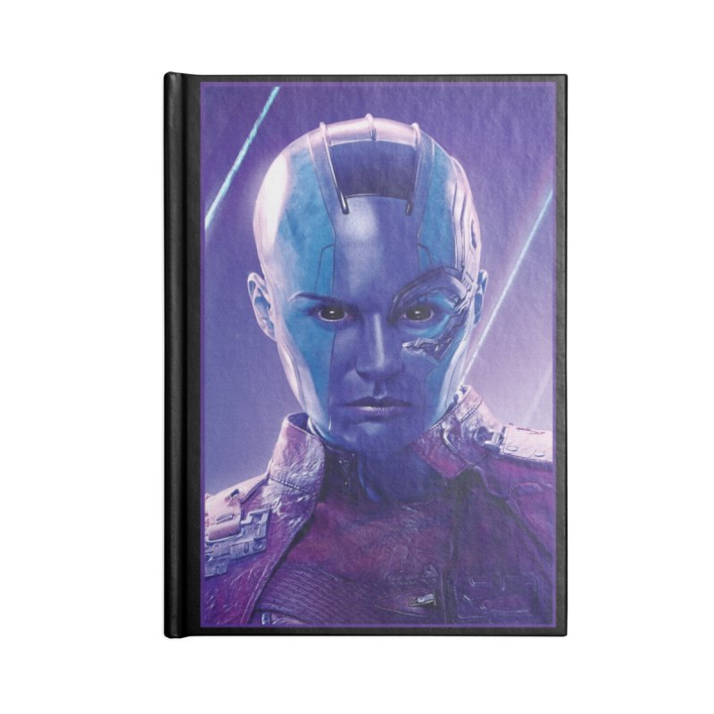 Nebula Accessories Lined Journal Notebook by Evolution Comics INC