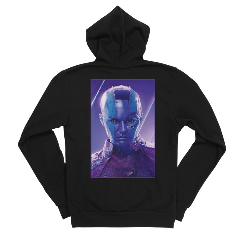 Nebula Men's Sponge Fleece Zip-Up Hoody by Evolution Comics INC