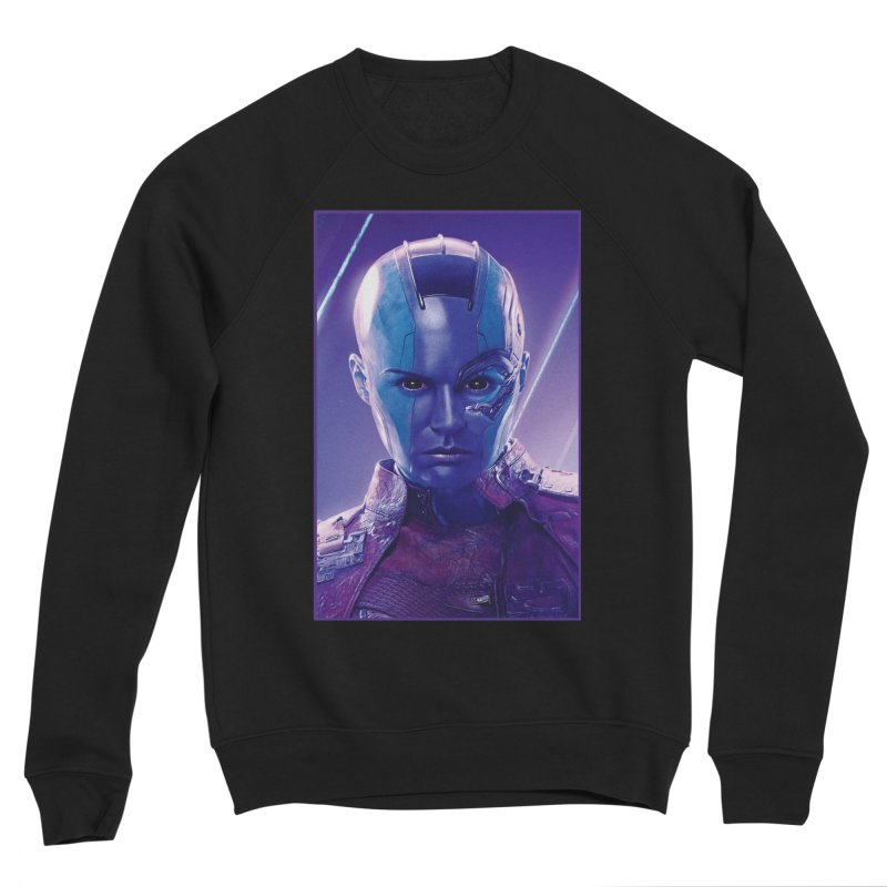 Nebula Men's Sponge Fleece Sweatshirt by Evolution Comics INC