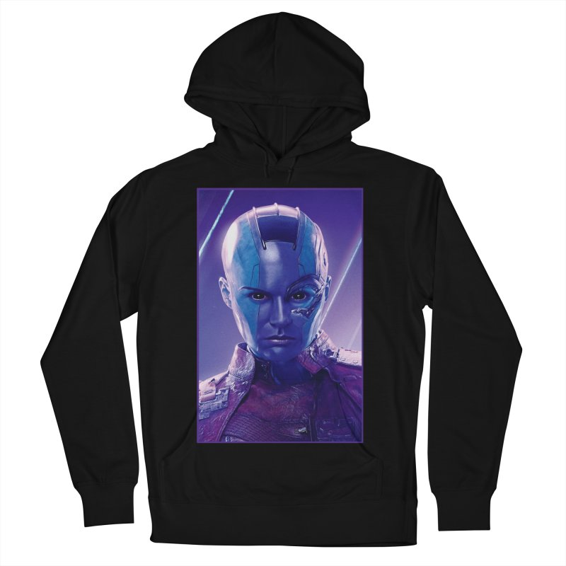 Nebula Women's French Terry Pullover Hoody by Evolution Comics INC
