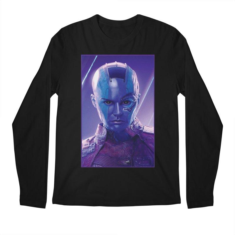 Nebula Men's Regular Longsleeve T-Shirt by Evolution Comics INC