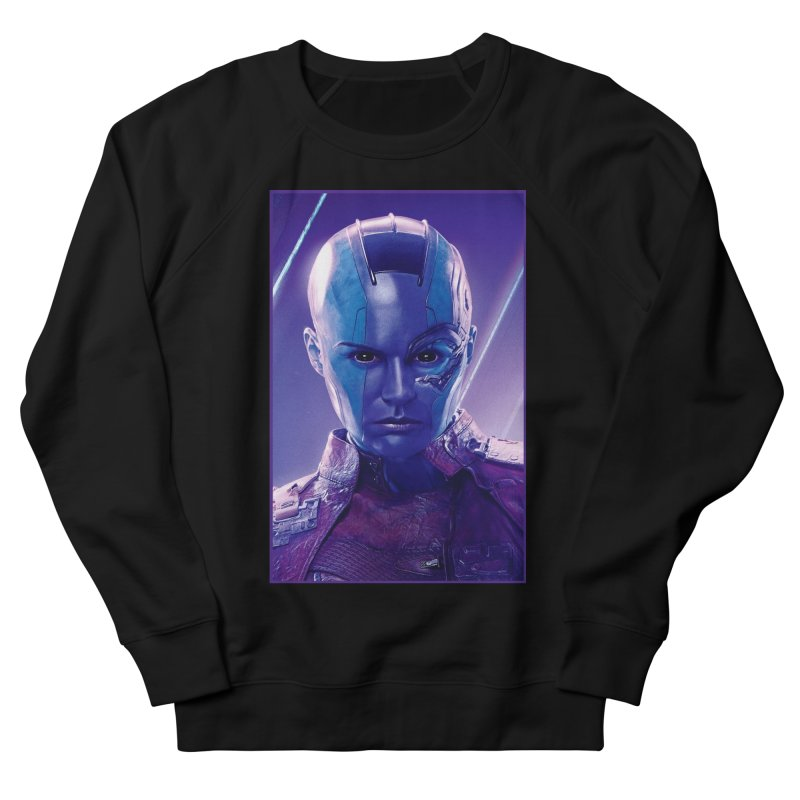 Nebula Men's French Terry Sweatshirt by Evolution Comics INC