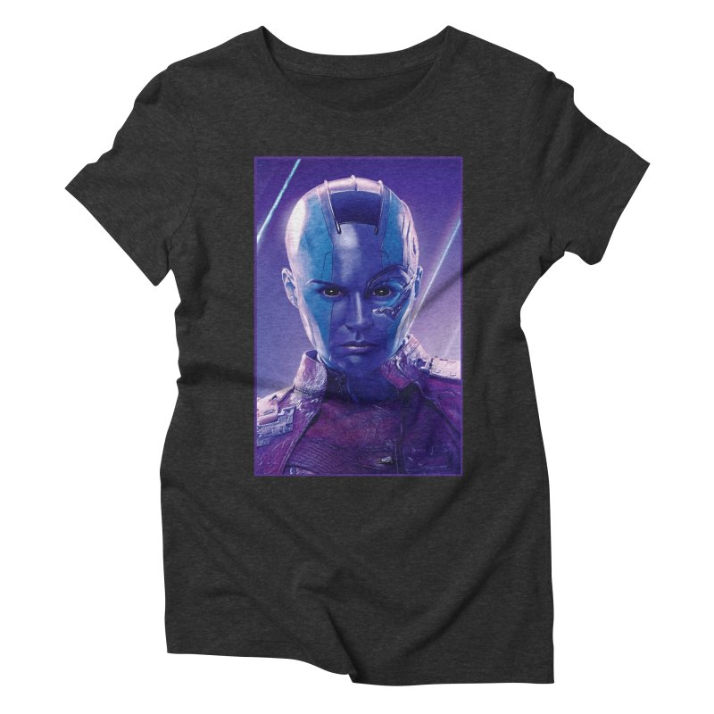 Nebula Women's Triblend T-Shirt by Evolution Comics INC