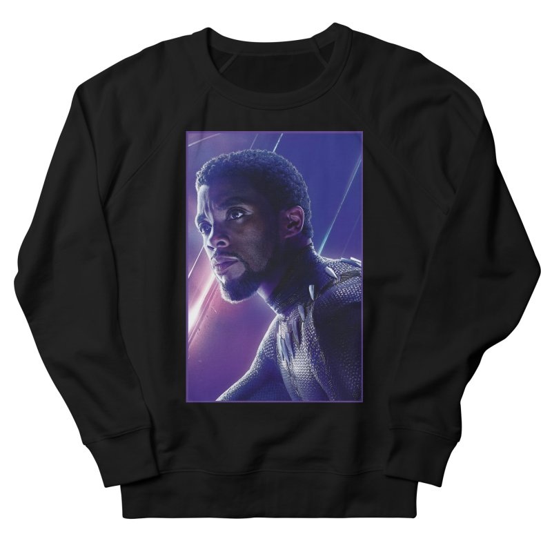 Black Panther - Infinity Endgame Men's French Terry Sweatshirt by Evolution Comics INC