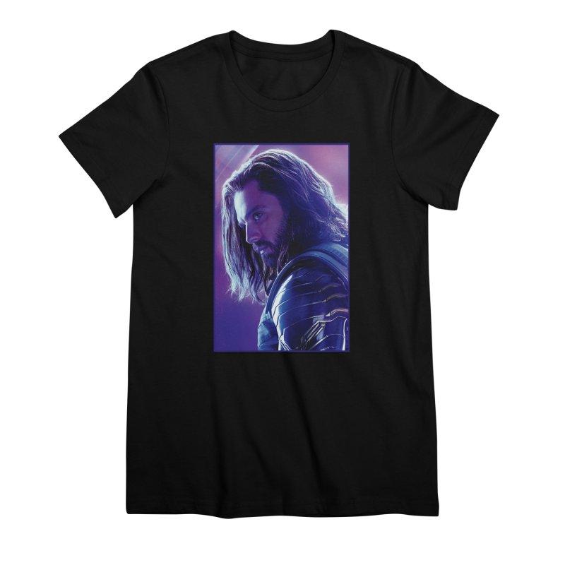 Bucky Barnes - Winder Soldier - Infinity Endgame Women's Premium T-Shirt by Evolution Comics INC