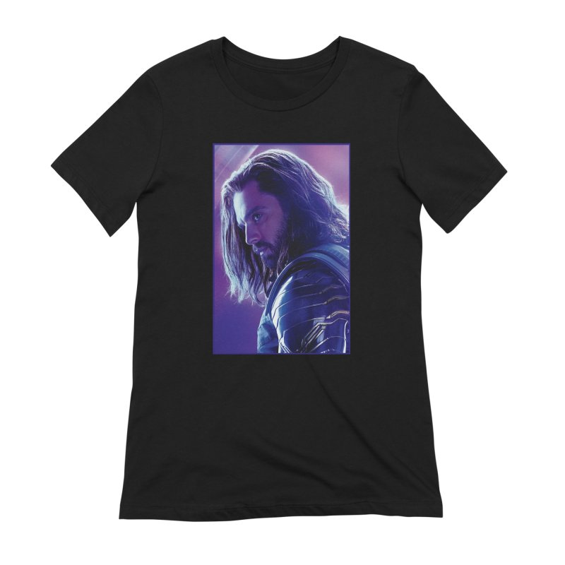 Bucky Barnes - Winder Soldier - Infinity Endgame Women's Extra Soft T-Shirt by Evolution Comics INC