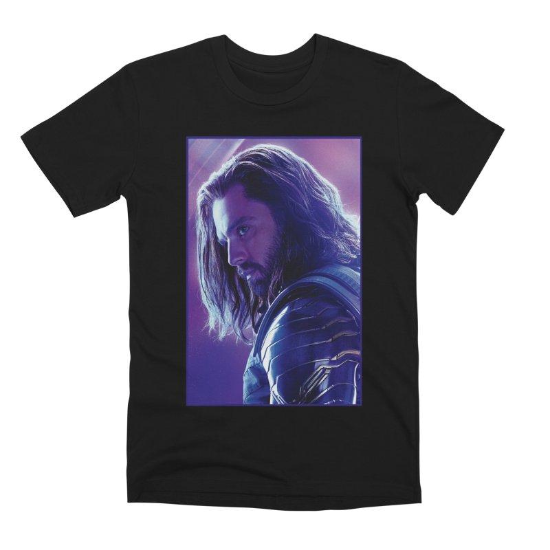 Bucky Barnes - Winder Soldier - Infinity Endgame Men's Premium T-Shirt by Evolution Comics INC