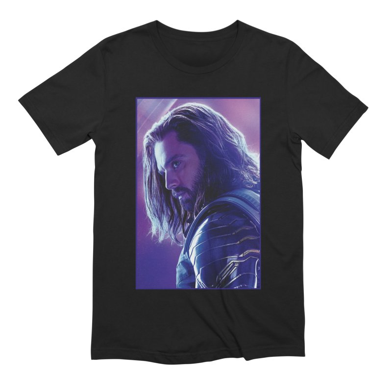 Bucky Barnes - Winder Soldier - Infinity Endgame Men's Extra Soft T-Shirt by Evolution Comics INC