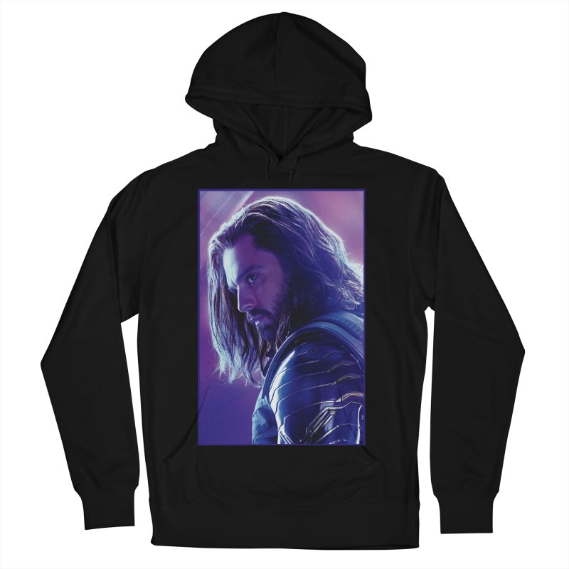 Bucky Barnes - Winder Soldier - Infinity Endgame Men's French Terry Pullover Hoody by Evolution Comics INC