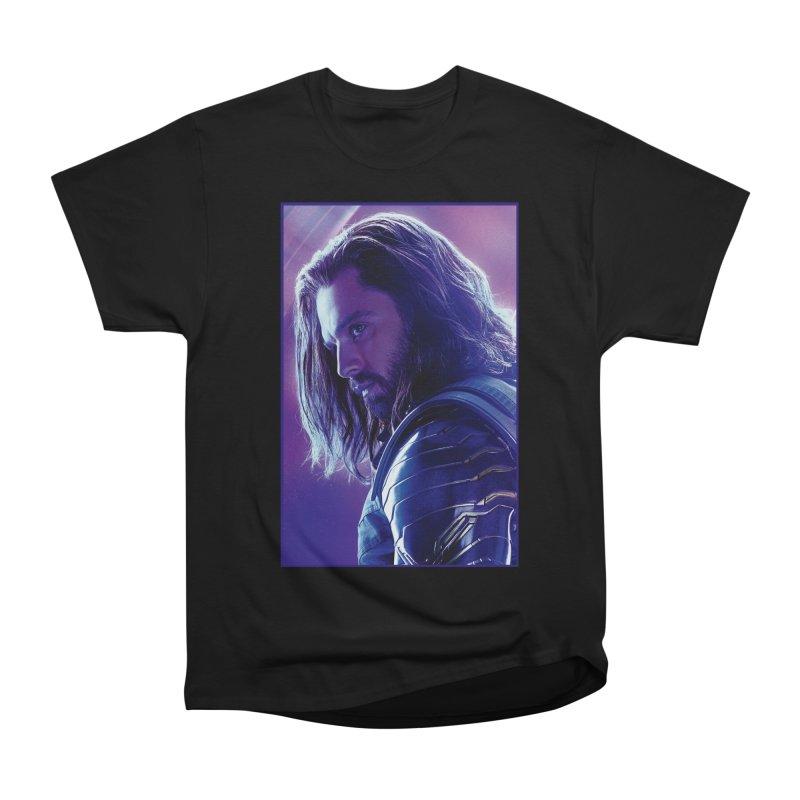 Bucky Barnes - Winder Soldier - Infinity Endgame Men's Heavyweight T-Shirt by Evolution Comics INC