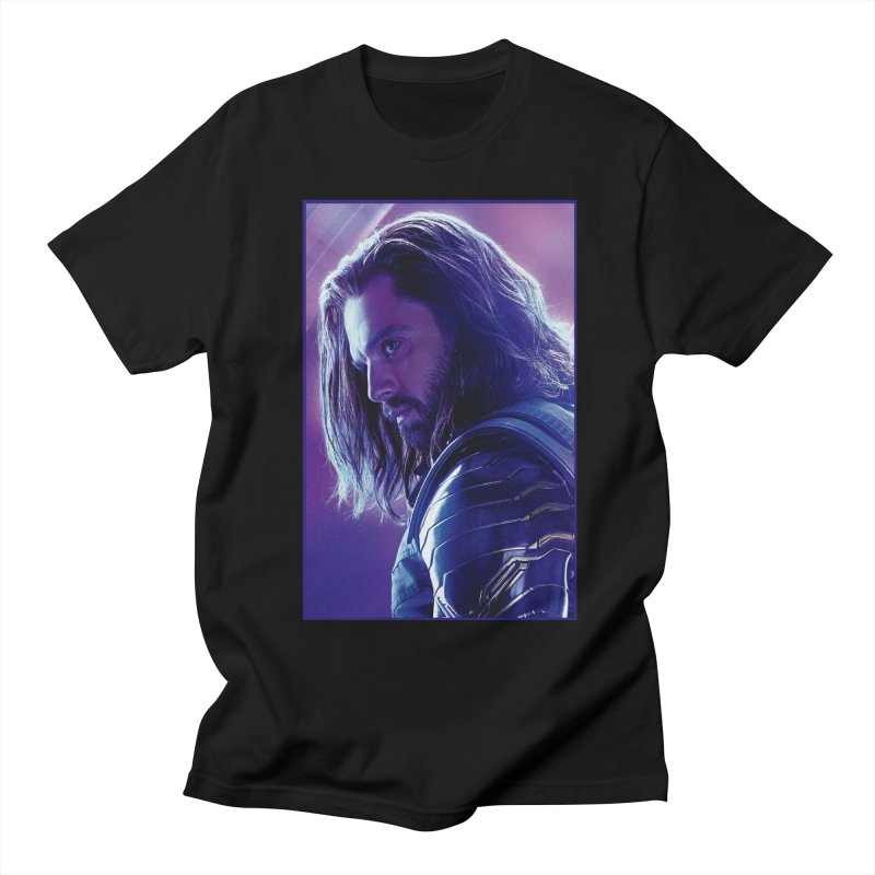 Bucky Barnes - Winder Soldier - Infinity Endgame Women's Regular Unisex T-Shirt by Evolution Comics INC