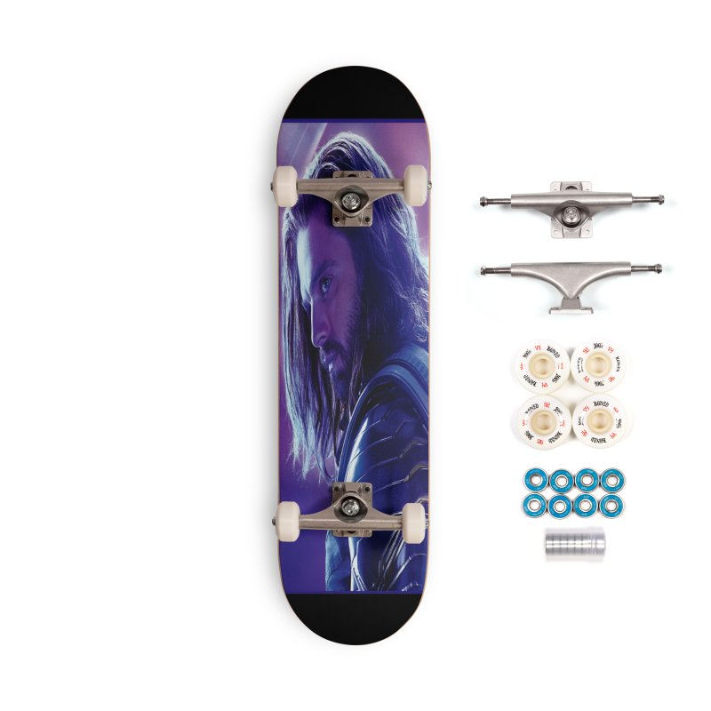 Bucky Barnes - Winder Soldier - Infinity Endgame Accessories Complete - Premium Skateboard by Evolution Comics INC