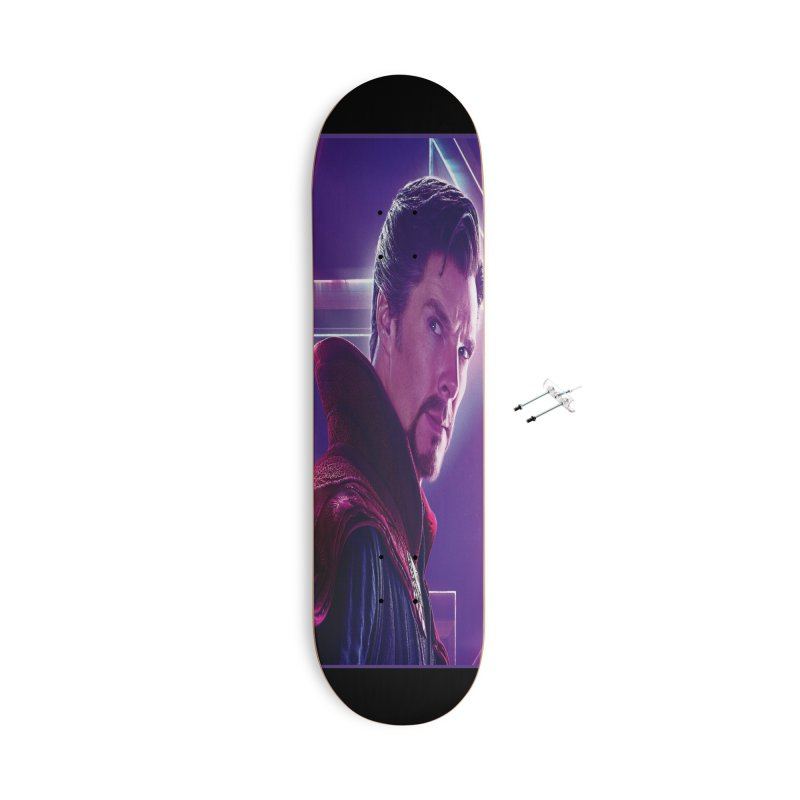 Dr. Strange - Infinity Endgame Accessories With Hanging Hardware Skateboard by Evolution Comics INC