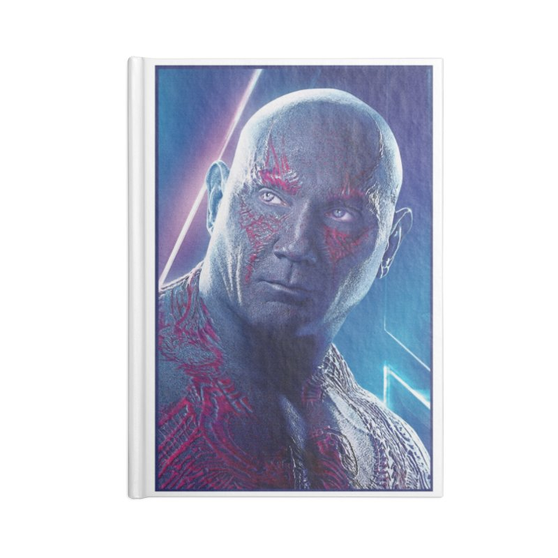 Drax - Infinity Endgame Accessories Blank Journal Notebook by Evolution Comics INC