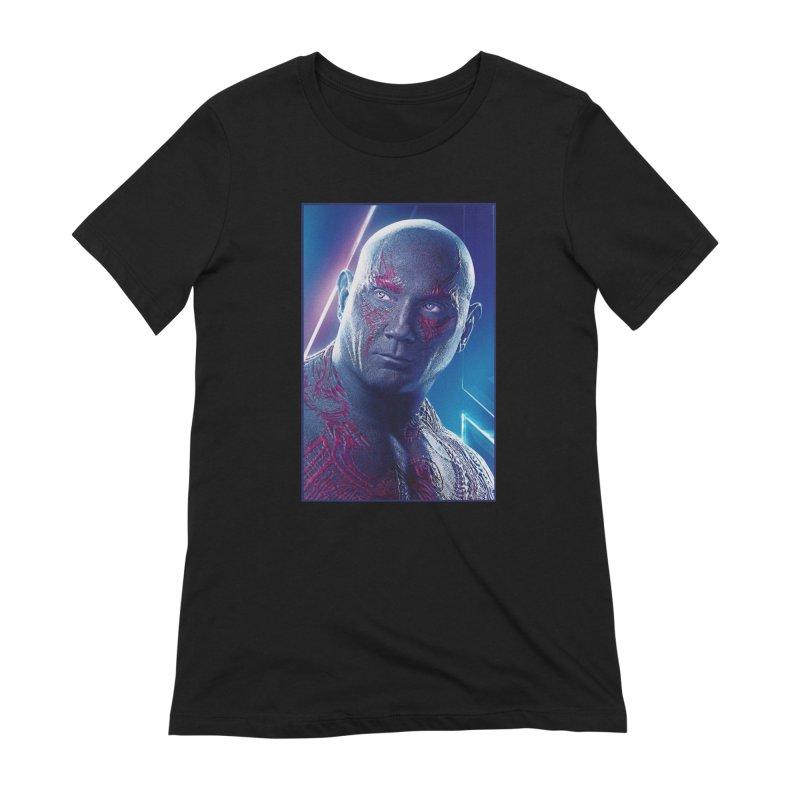 Drax - Infinity Endgame Women's Extra Soft T-Shirt by Evolution Comics INC