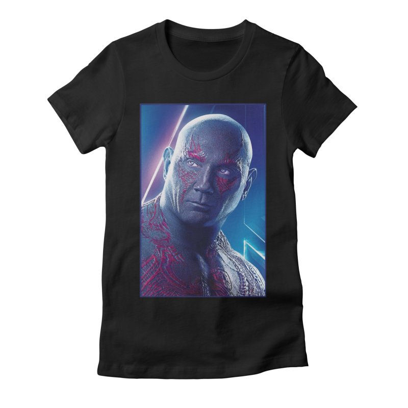 Drax - Infinity Endgame Women's Fitted T-Shirt by Evolution Comics INC