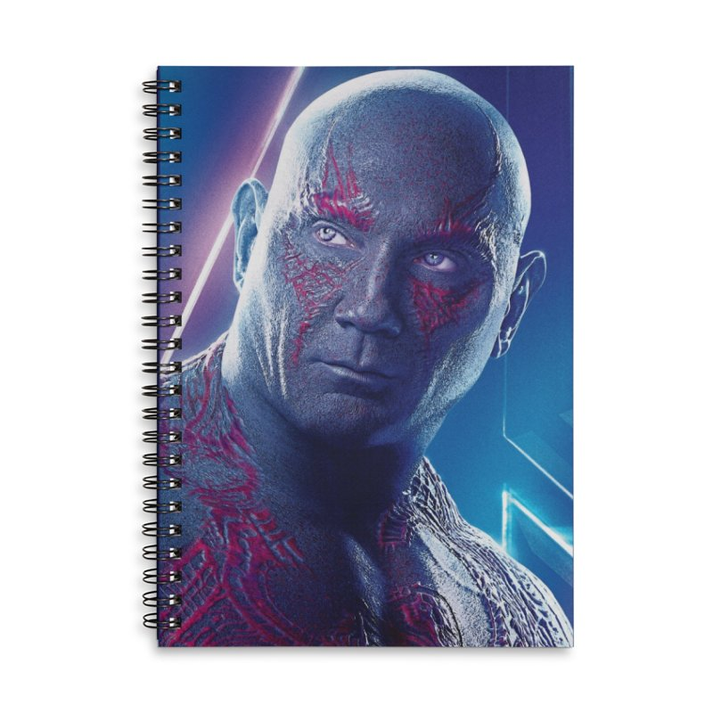 Drax - Infinity Endgame Accessories Lined Spiral Notebook by Evolution Comics INC