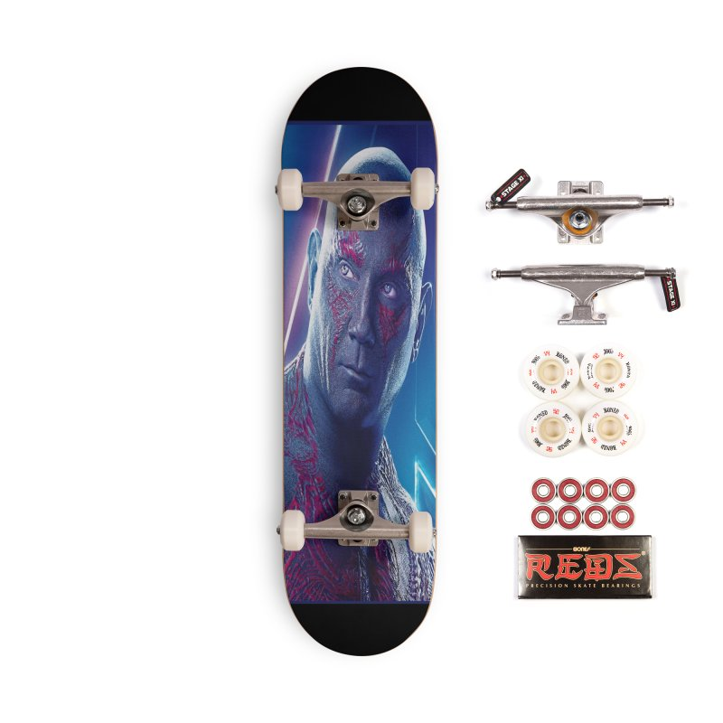 Drax - Infinity Endgame Accessories Complete - Pro Skateboard by Evolution Comics INC