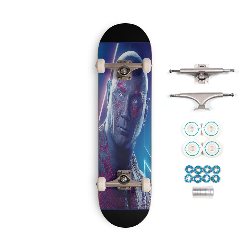 Drax - Infinity Endgame Accessories Complete - Basic Skateboard by Evolution Comics INC