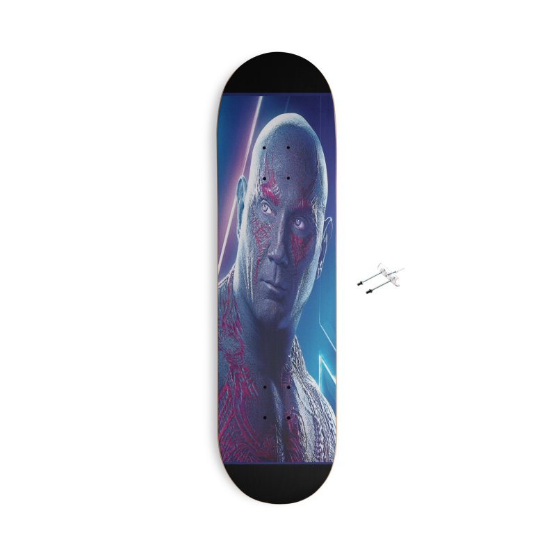 Drax - Infinity Endgame Accessories With Hanging Hardware Skateboard by Evolution Comics INC
