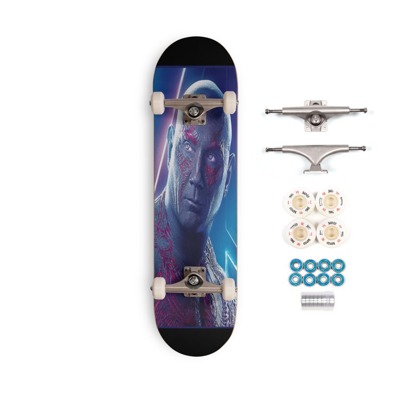 Drax - Infinity Endgame Accessories Complete - Premium Skateboard by Evolution Comics INC