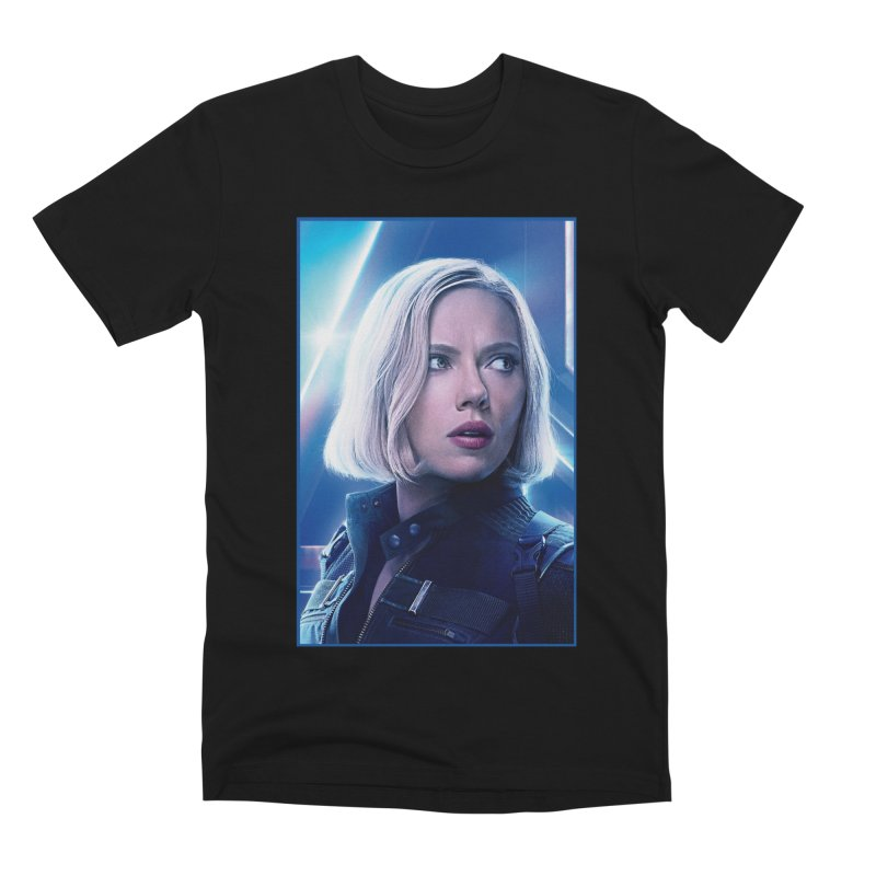 Black Widow Blonde Men's Premium T-Shirt by Evolution Comics INC