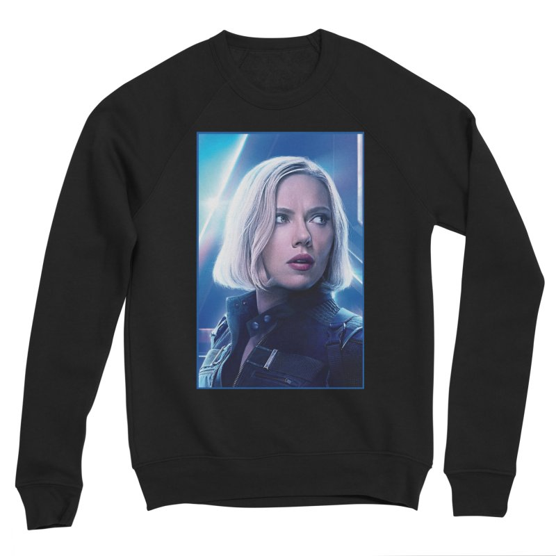 Black Widow Blonde Women's Sponge Fleece Sweatshirt by Evolution Comics INC