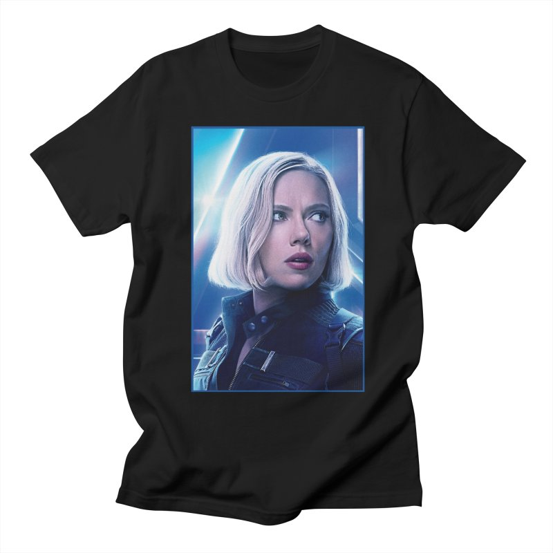Black Widow Blonde Women's Regular Unisex T-Shirt by Evolution Comics INC