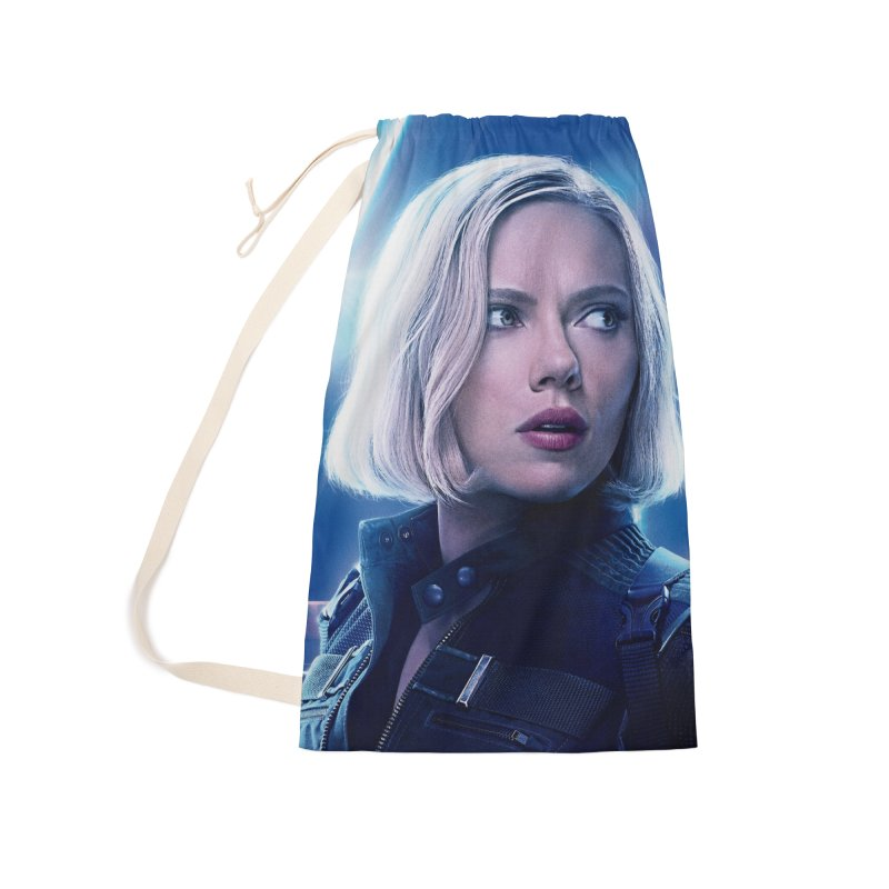 Black Widow Blonde Accessories Laundry Bag Bag by Evolution Comics INC