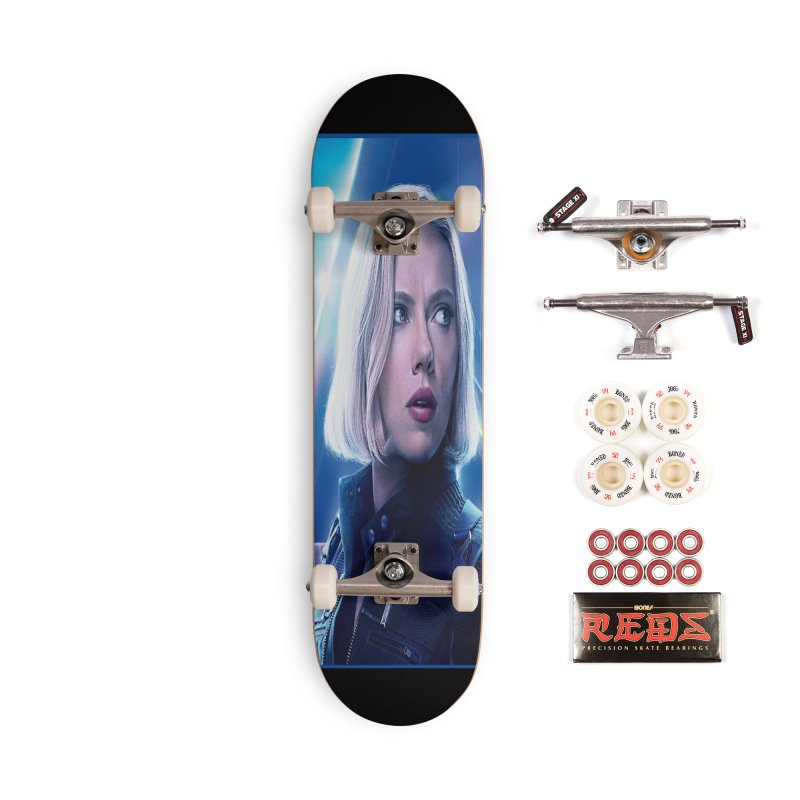 Black Widow Blonde Accessories Complete - Pro Skateboard by Evolution Comics INC