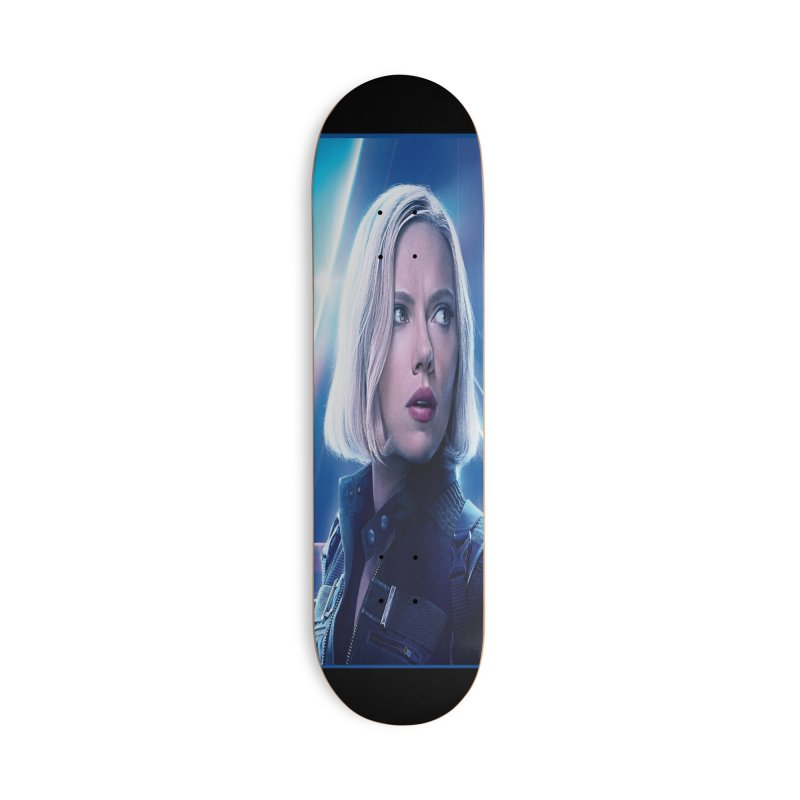 Black Widow Blonde Accessories Deck Only Skateboard by Evolution Comics INC