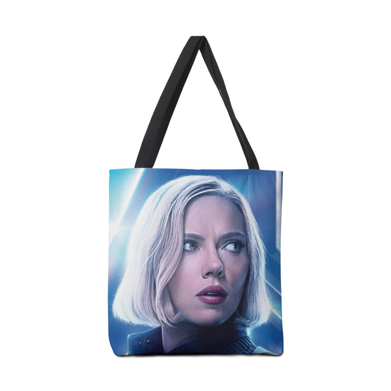 Black Widow Blonde Accessories Tote Bag Bag by Evolution Comics INC