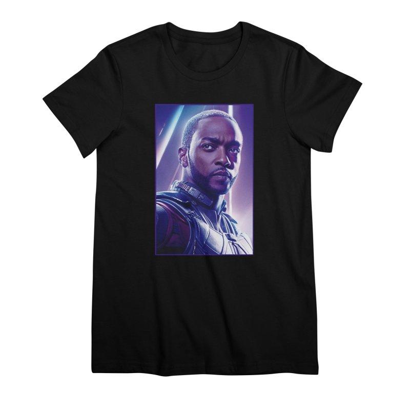Falcon Women's Premium T-Shirt by Evolution Comics INC