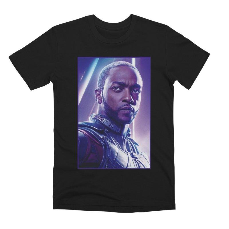 Falcon Men's Premium T-Shirt by Evolution Comics INC