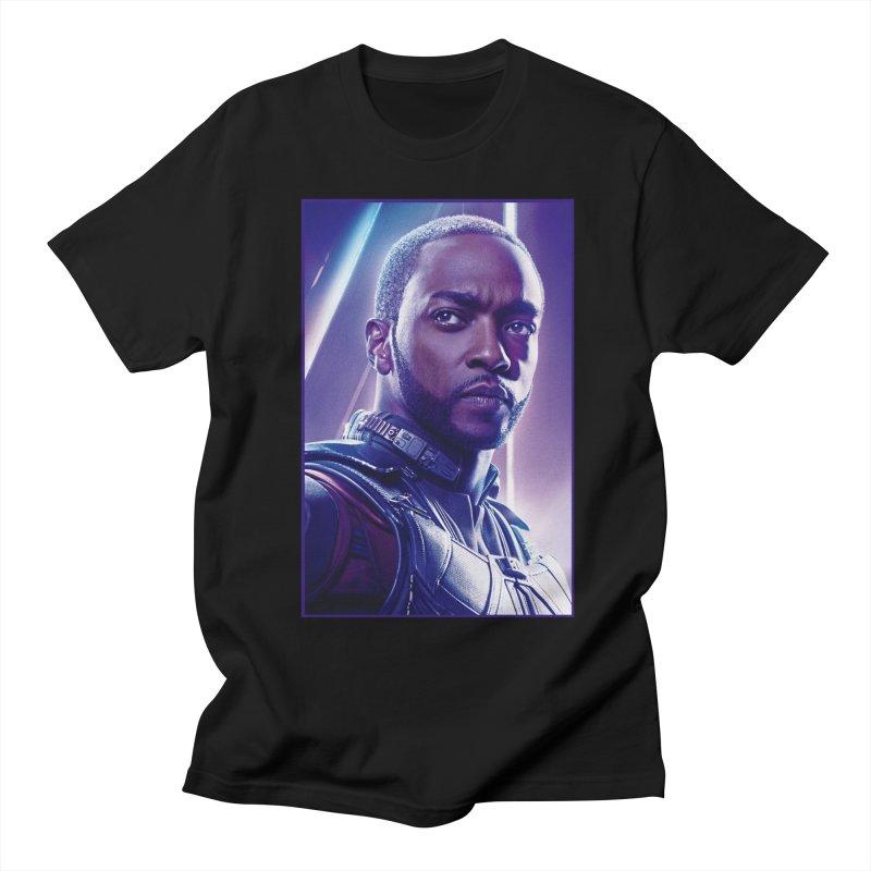 Falcon Men's Regular T-Shirt by Evolution Comics INC
